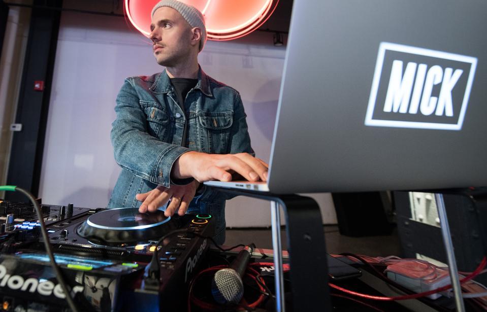 Successful DJ and entrepreneur MICK