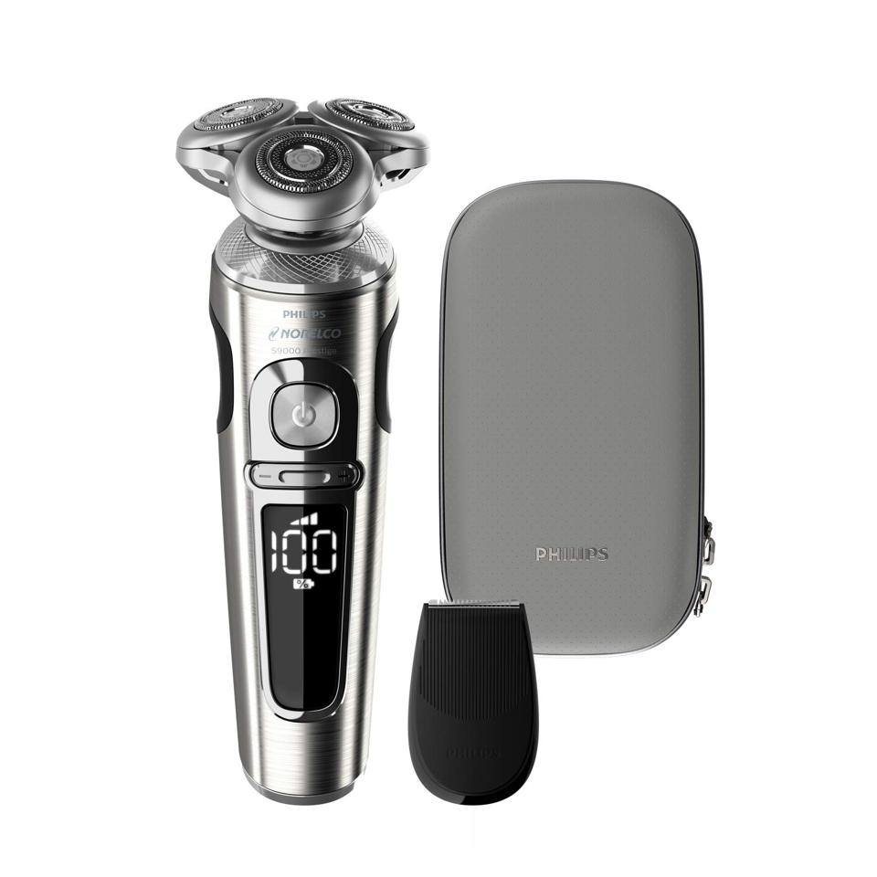 Philips Norelco Series 9000 Wet & Dry Rechargeable Electric Shaver with Trimmer Attachment
