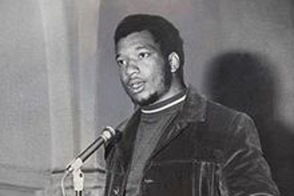 Fred Hampton, the chairman of the Illinois Black Panthers, who in 1969 was murdered in his sleep by Chicago police.