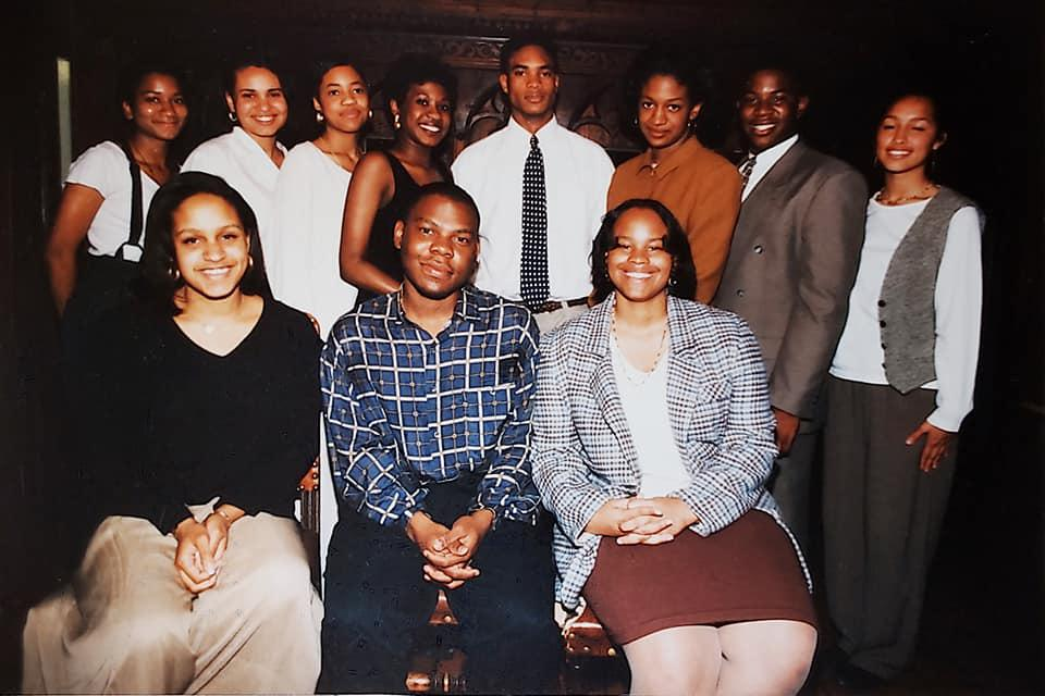 The founding team of The Yale Black Political Forum, 1994