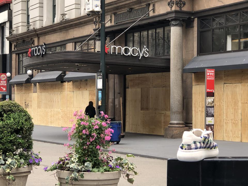 Macy's, looting, protests
