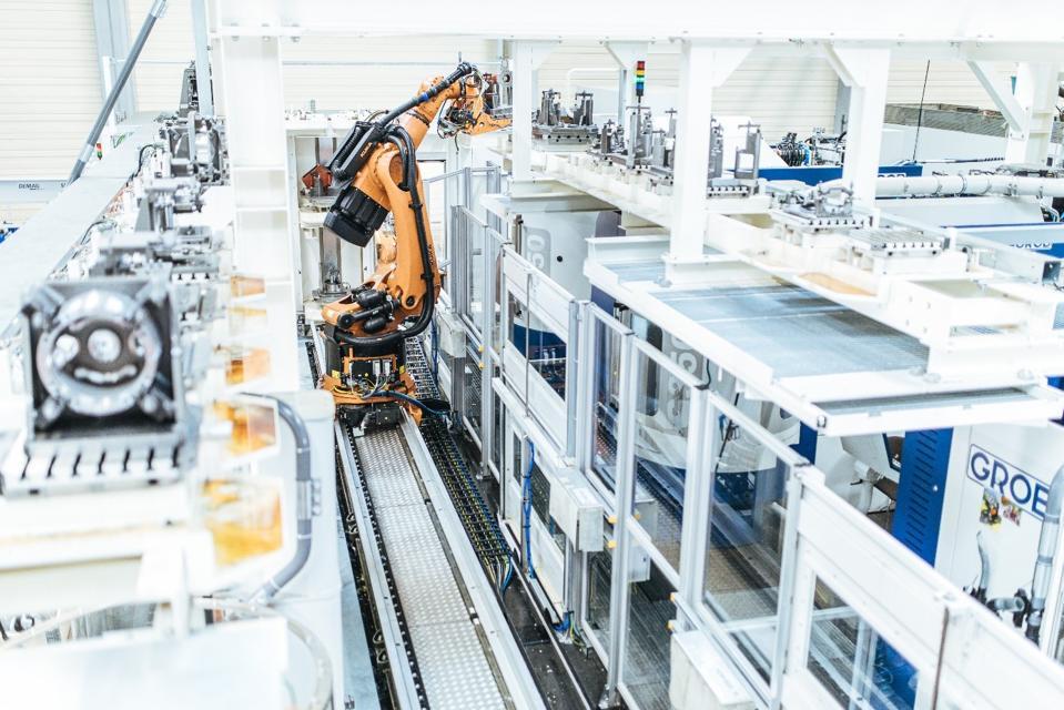 Robotics at work