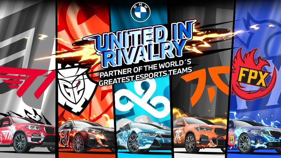 BMW announced a partnership with esports companies Cloud9, Fnatics, FunPlus Phoenix, G2 Esports, and T1.