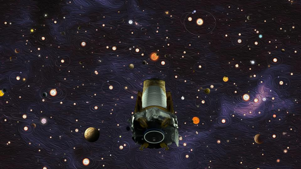 Kepler-160 was found by the Kepler Space Telescope and continuously observed from 2009 to 2013. This is an artist's impression.