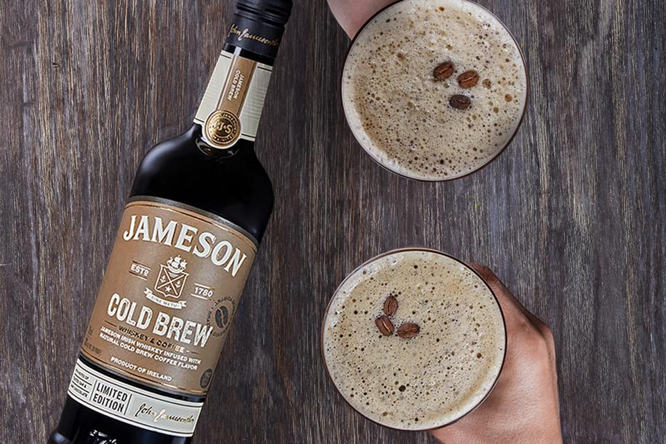 Jameson Cold Brew and Brewtini cocktails