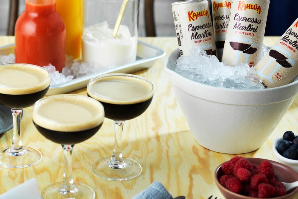 Kahlúa Espresso Martinis