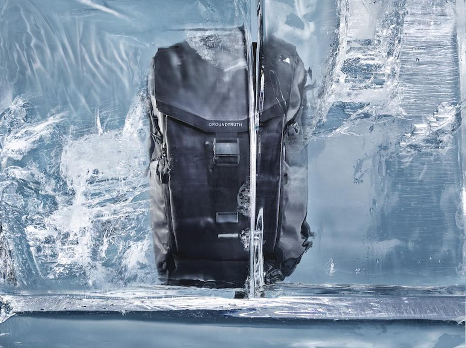 ballistic grade backpack in ice groundtruth brand