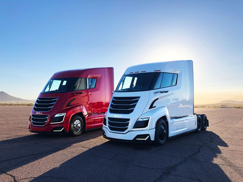 Nikola's $12 Billion Nasdaq Debut Is A Boost For Hydrogen Trucks–And Founder Trevor Milton's Fortune