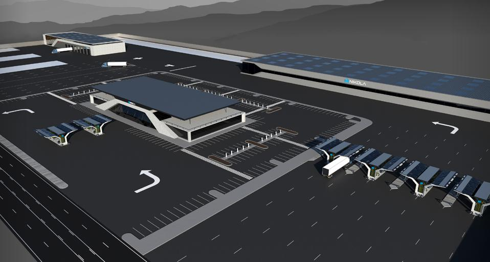 Nikola Fuel Station