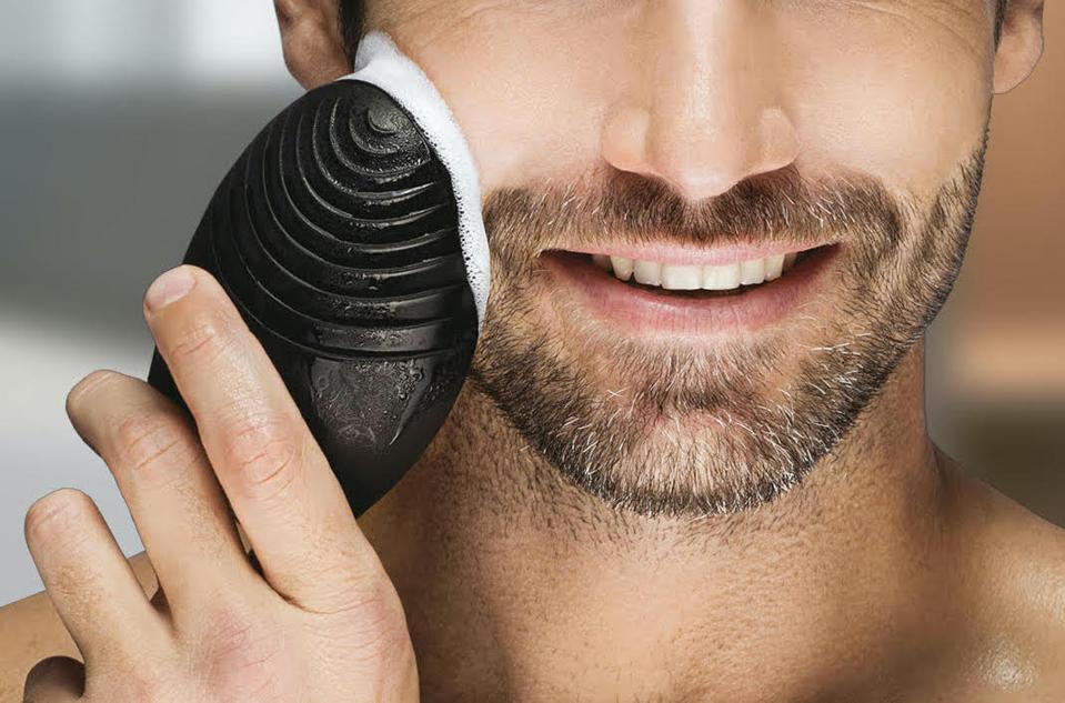FOREO LUNA 2 for men 3-In-1 Facial Scrub Brush, Pre-Shaving & Anti-Aging Device T-Sonic™