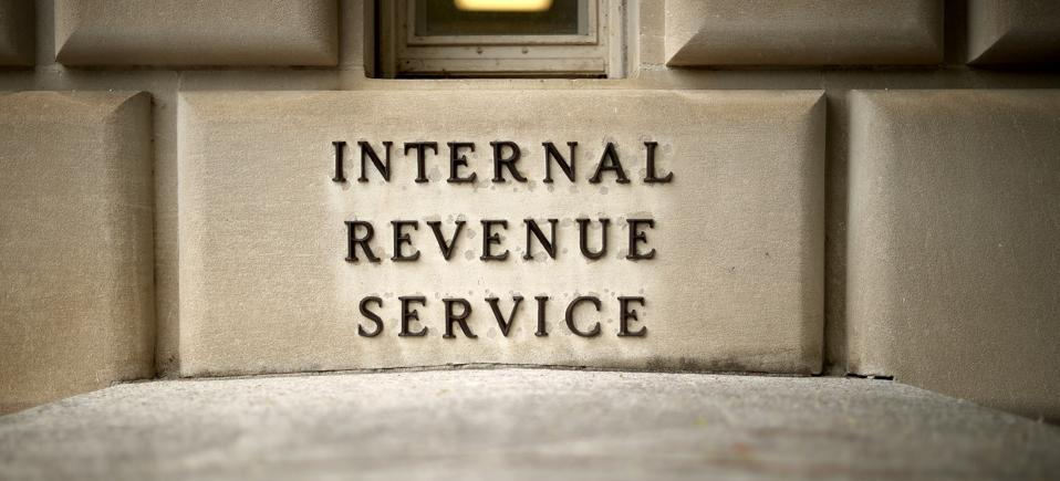 IRS building lettering