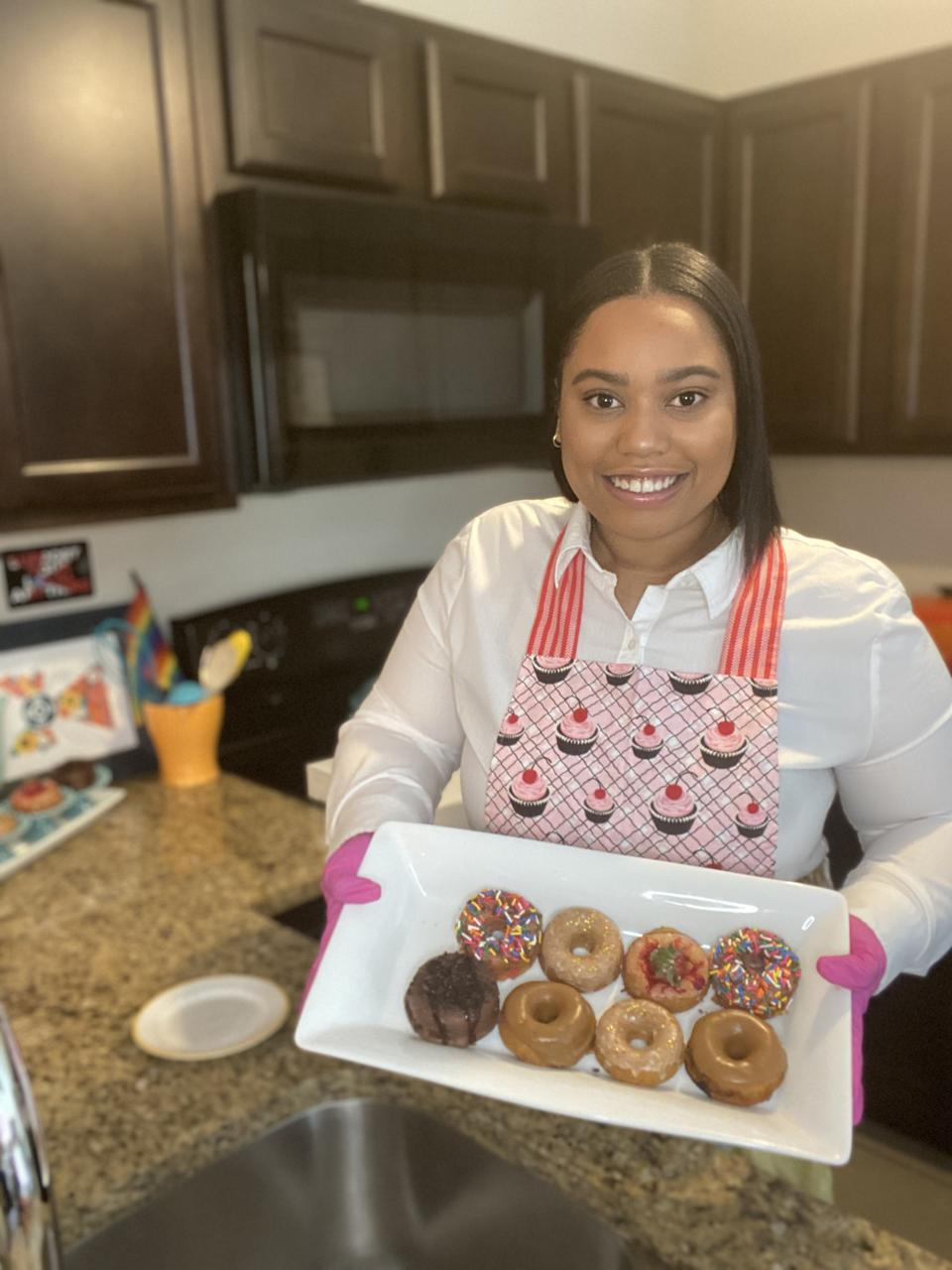 Founder of Hungry Bunny, Khloe Hines.