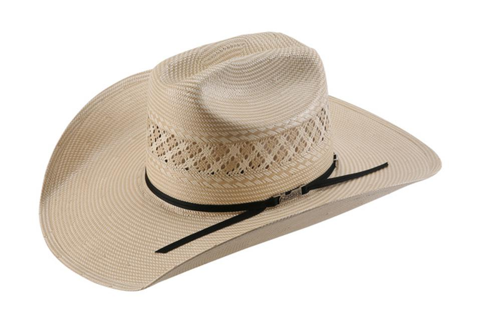 1011 Straw Cowboy Hat By American Hat Company.