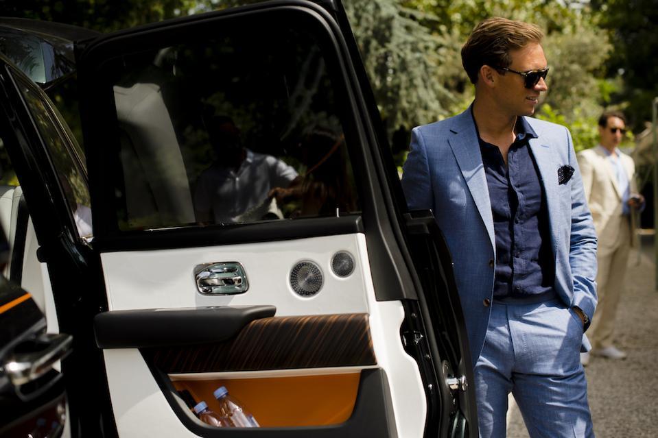 Alex Innes, head of Rolls-Royce Coachbuild design