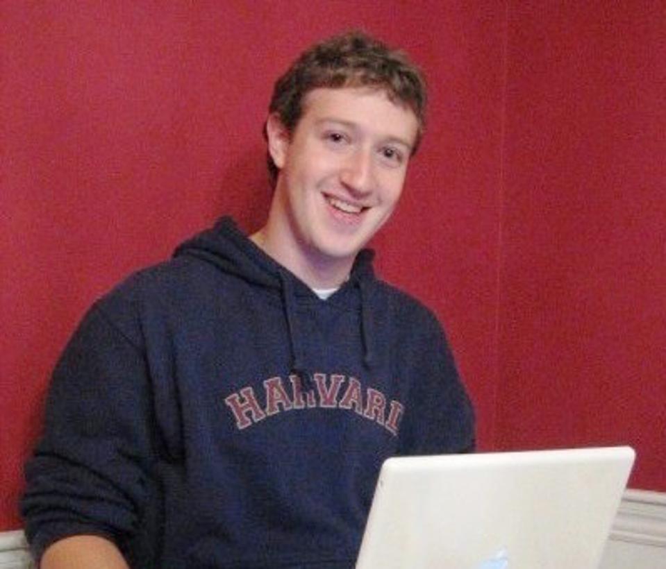 Mark Zuckerberg in 2005.