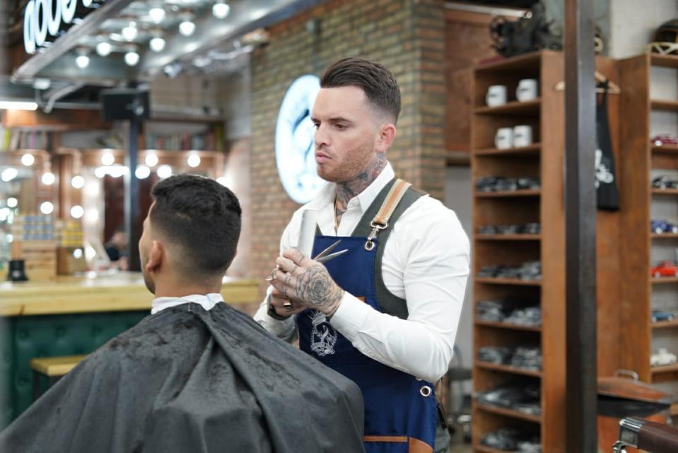 Alex Torrecillas The Spot Barbershop