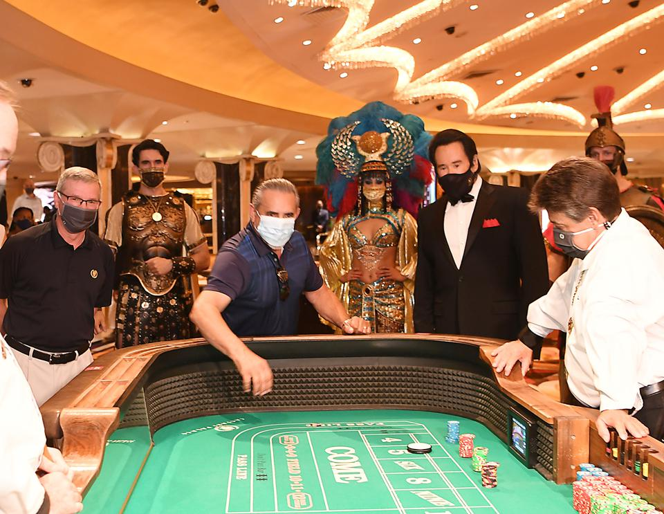 Caesars Palace Las Vegas Reopens