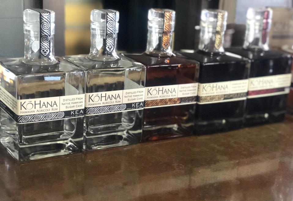 Agricole Rum at Ko Hana Distillers on Oahu