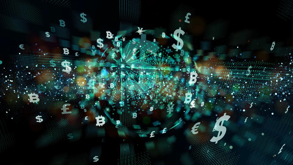Fintech (Financial technology) concept.