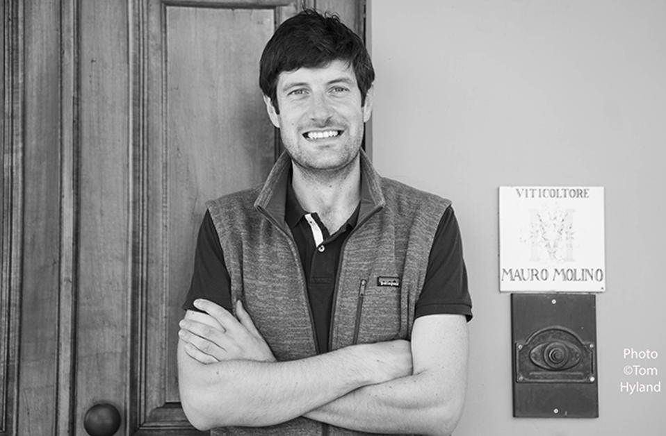 Matteo Molino, Mauro Molino winery, La Morra