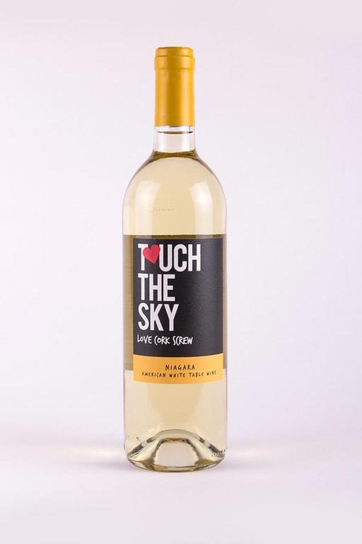 Love Cork Screw Touch The Sky Niagara Wine