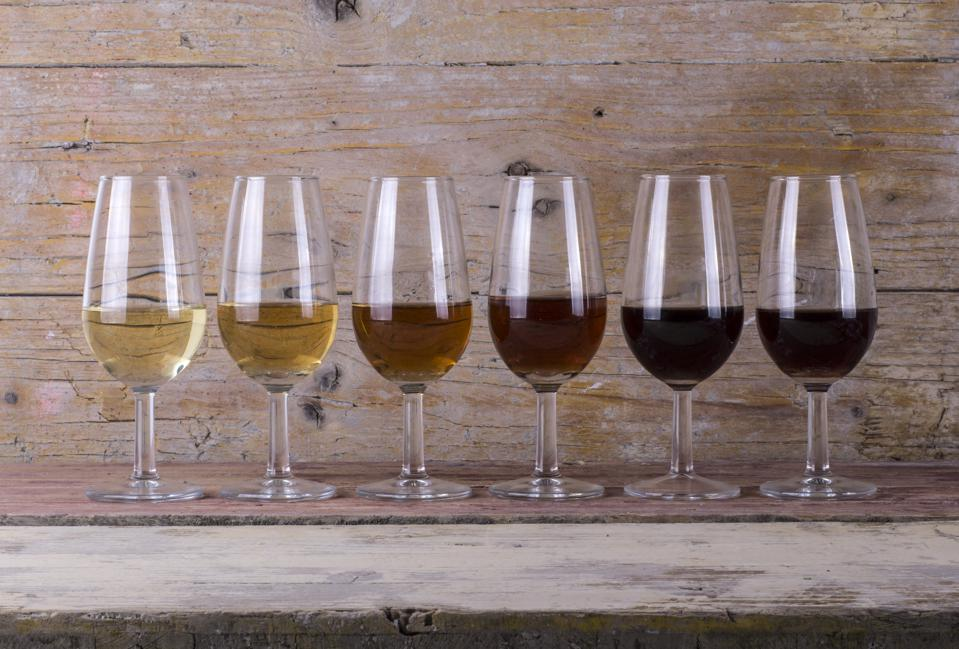 A selection of Sherry from Jerez