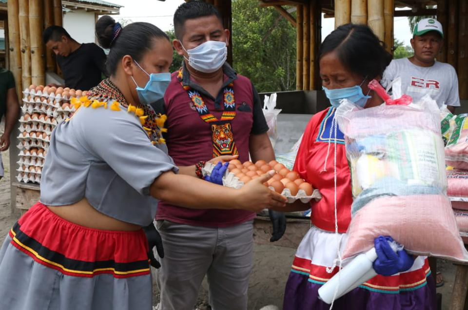 Cofan tribe, Ecuador.