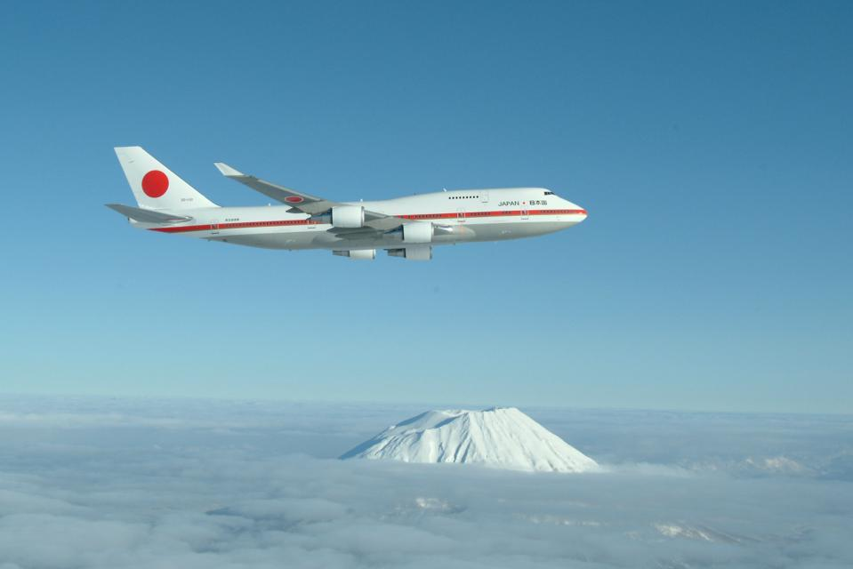 Japan's former 747 Air Force One