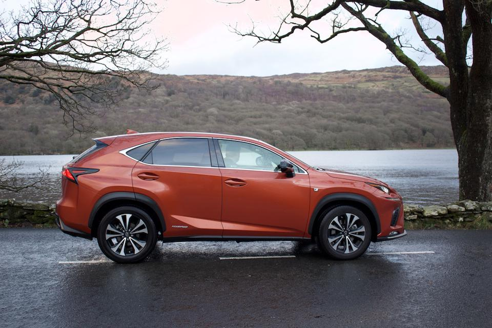 Lexus NX 300h in the Lake District, UK