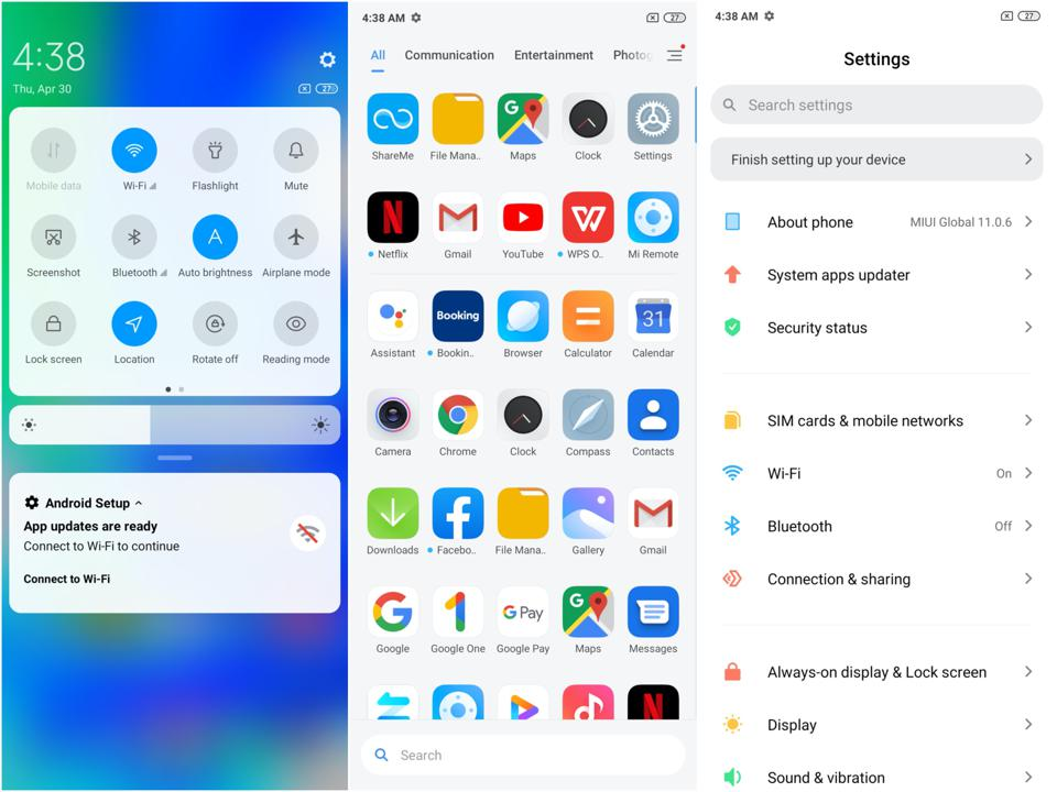 The Poco Launcher is very similar to Xiaomi's MIUI.