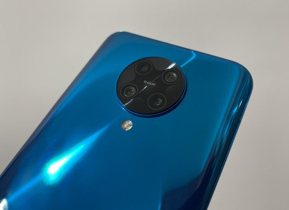 The Poco F2 Pro has a quad camera system.