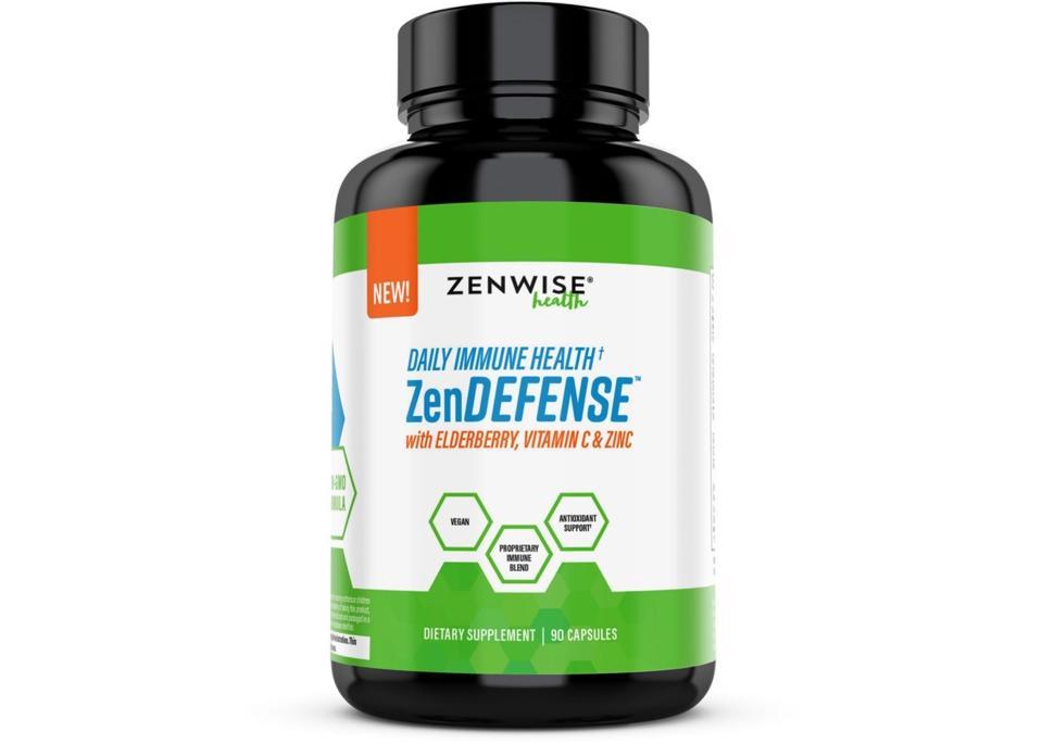 ZenDEFENSE™ Zenwise Health daily immune health supplement wellness