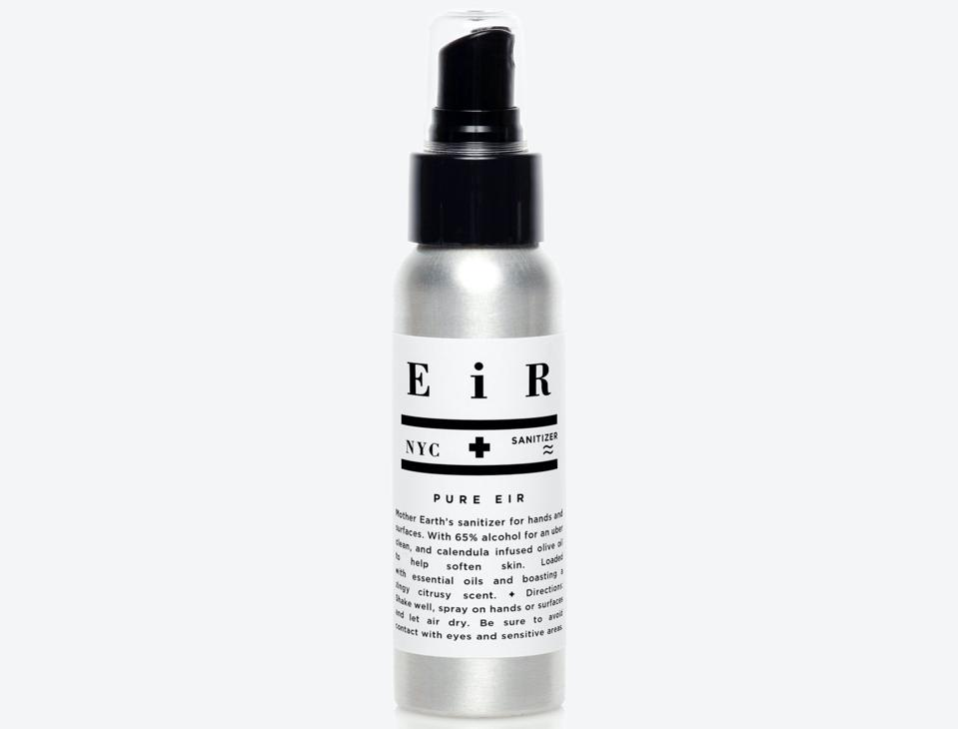 EiR NYC Pure Eir hand sanitizer wellness skincare beauty