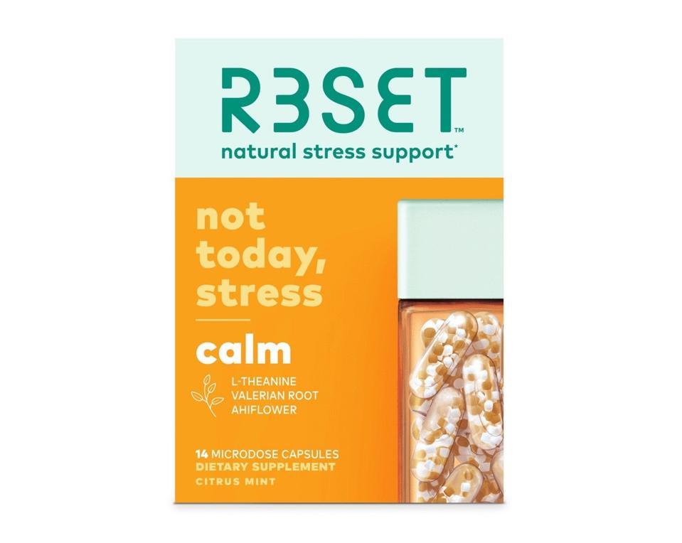 R3SET Stress Management Supplements Calm Nbot Today Stress Wellness Anxiety Microdose