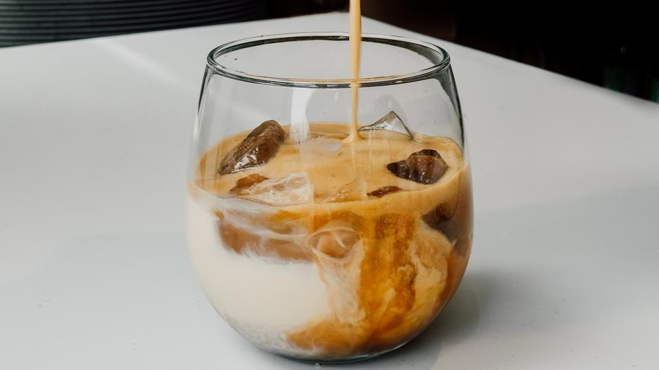 dalgona coffee from Foxtrot Market
