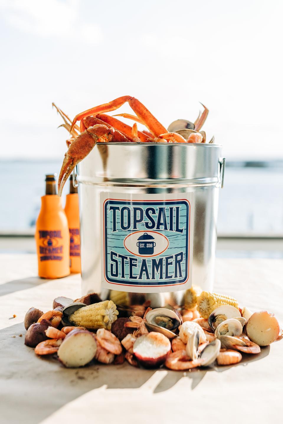 Topsail Steamer Pots