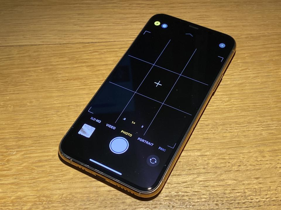 iPhone 11 Pro in gold finish