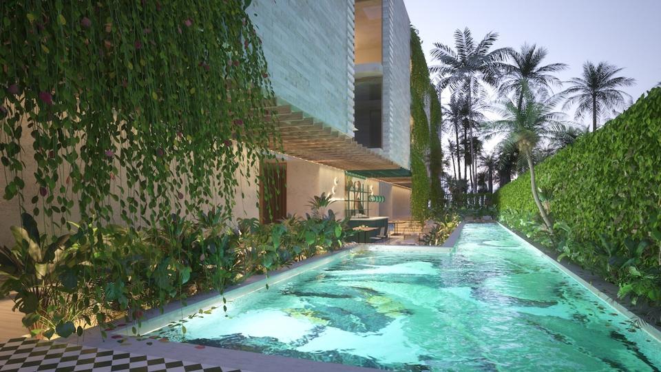 Domio Tulum Apartment Hotel Pool