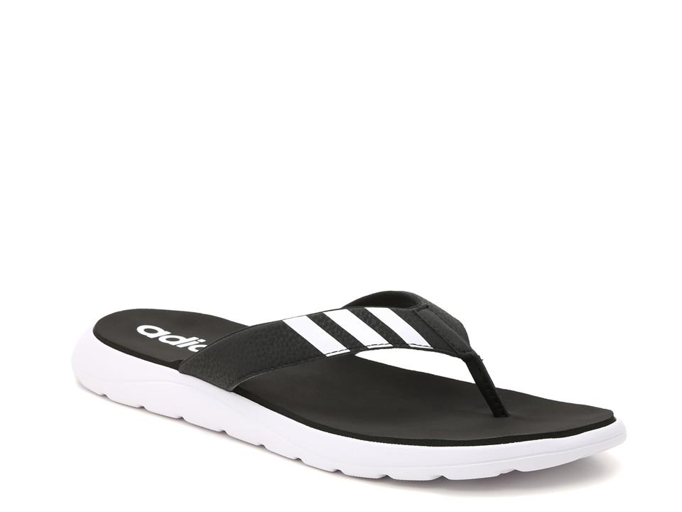 These Adidas Comfort Flip Flop (price $29.99) are fashionable, affordable, and easy to wear for any occasion