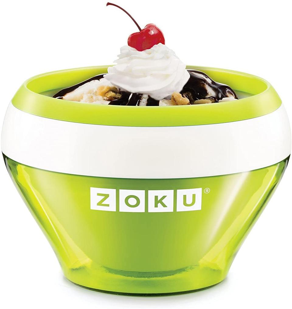 Zoku Ice Cream Maker in Lime Green