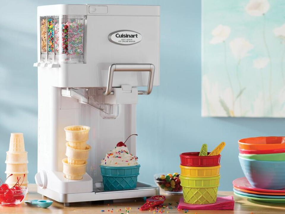 White Cuisinart Mix It In™ Soft Serve Ice Cream Maker