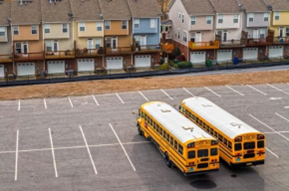 School buses serve as Wi-Fi hotspots for students without internet connections at home