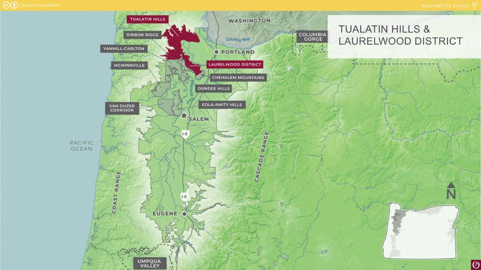 The Tualatin Hills and Laurelwood District AVAs