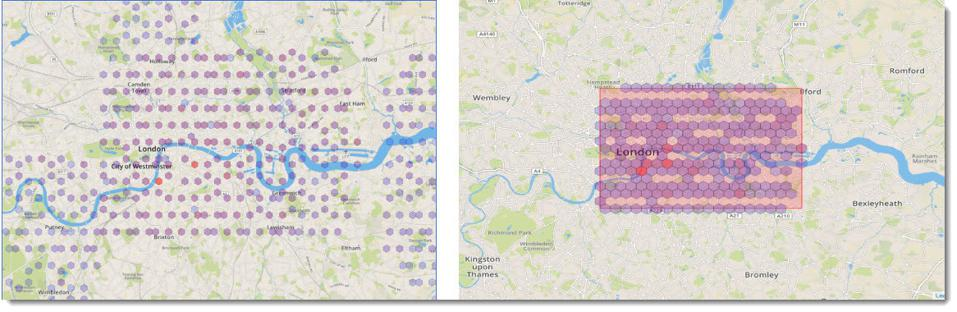location fraud - rectangular grids of smartphone locations