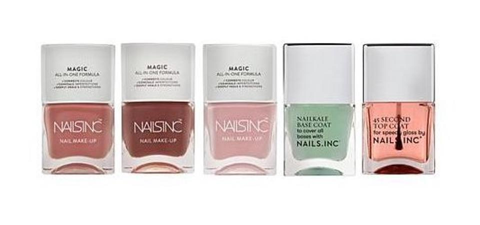 Nails.INC 5-piece The Heroes Set