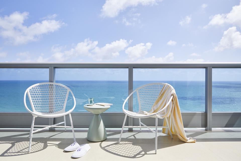 Domio Miami Monte Carlo Balcony on South Beach Apartment Hotel