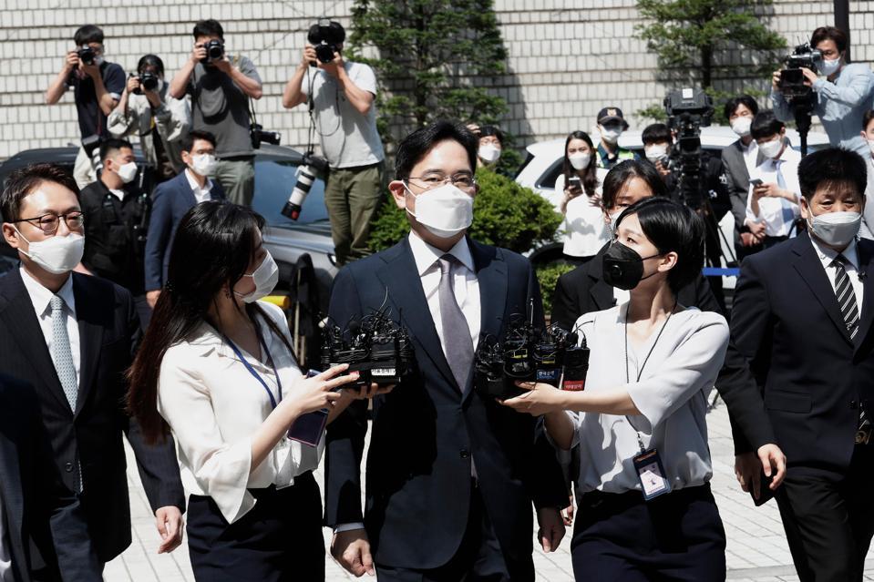 Samsung Electronics Vice Chairman Lee Jae-yong
