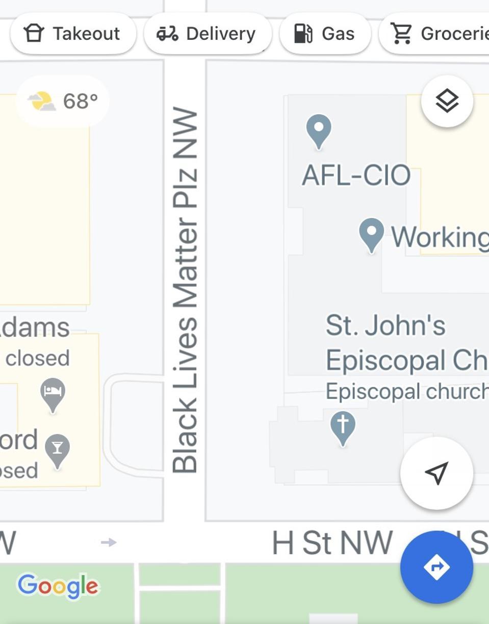Google Maps DC