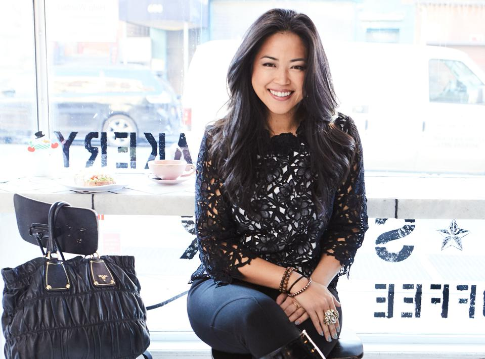 Lisa Sun, founder of Gravitas, created a fashion line that supports women's self-confidence.
