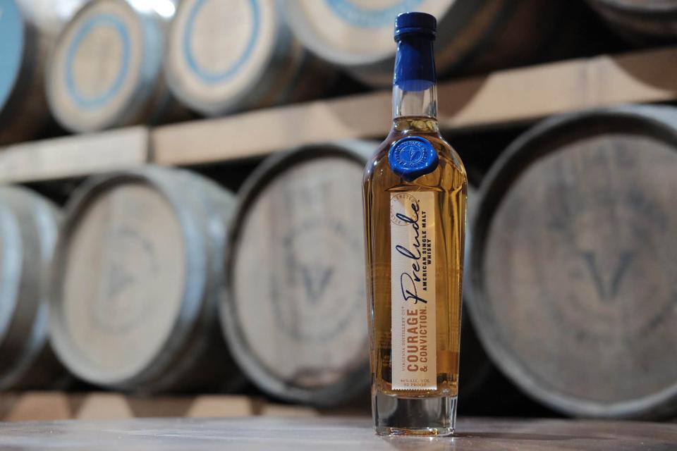 Virginia Distillery Co. produces a range of excellent whiskies, including this one.